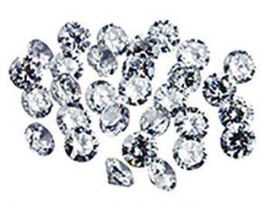 zirconia e o diamante